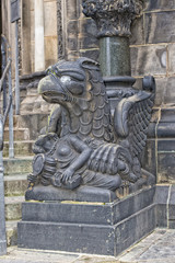 bremen dome statue eagle