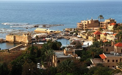 Byblos Harbor