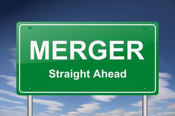 merger sign