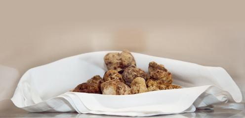Italian white truffles