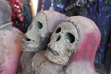 Voodoo-Artikel im Marché de Fer, Port-au-Prince, Haiti
