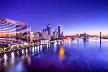 Jacksonville, Florida Skyline
