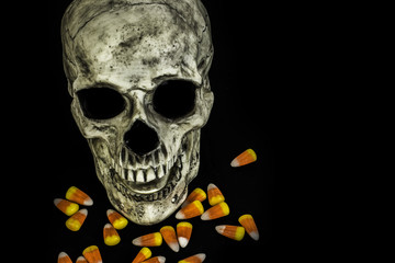 Skull and Candy Corn