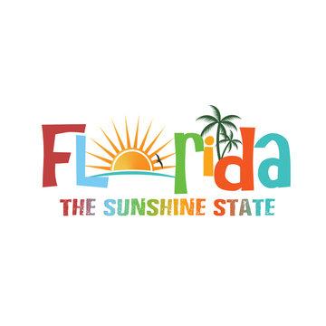 Florida theme name logo