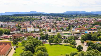 Blick auf Wendlingen