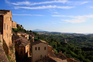 Italien, Toskanisches Dorf