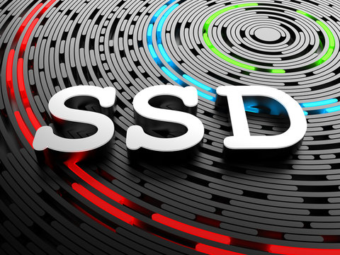 SSD - solid-state drive or solid-state disk