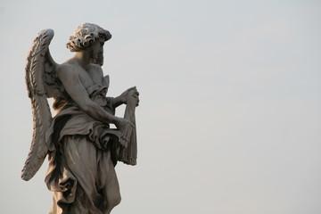 サンタンジェロ城の石像
