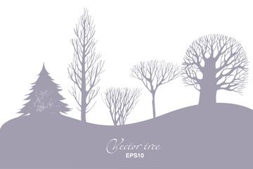 Landscape  vector background