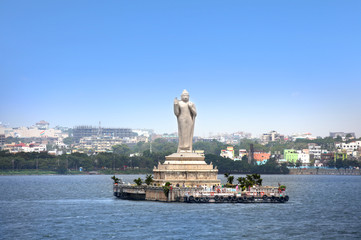 Buddha statue in Hyderabad Fototapete