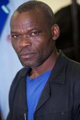 Portrait of African men