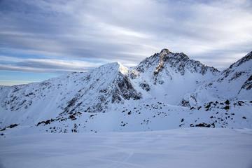Горы в Австрии. Альпы.