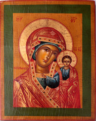 Orthodox icon of Virgin Mary