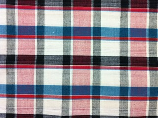 fabric  plaid Cotton of colorful background and abstract
