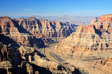 view of Grand Canyonfrom touristic point