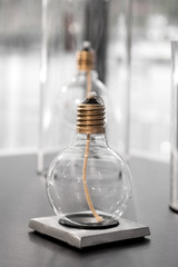 close up of kerosene lamp