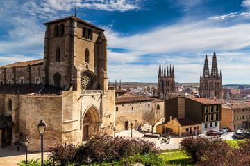 San Estaban church and Cathedral of Santa Maria, Burgos
