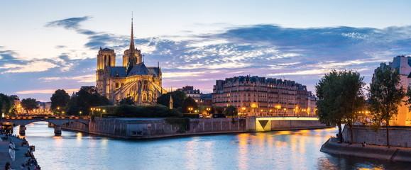Recess Fitting Paris Paris Notre Dame Panorama