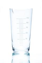 Temperature resistant conical beaker for measurements 250ml