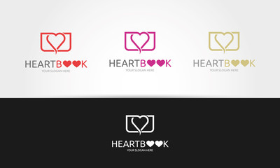 Heart Book Logo