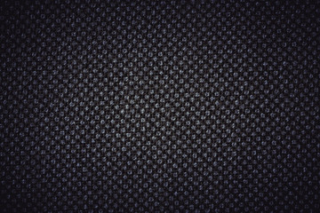 Dark Linen texture with white painted dots