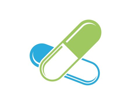 capsule logo template
