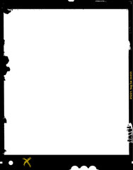 large format film sheet negative, 4 x 5 inch, photo frame, ,with