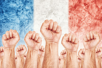 France Labour movement, workers union strike