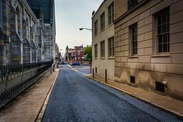 Alley in Harrisburg, Pennsylvania.
