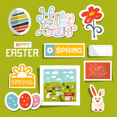 Vector Easter Symbols - Objects Set