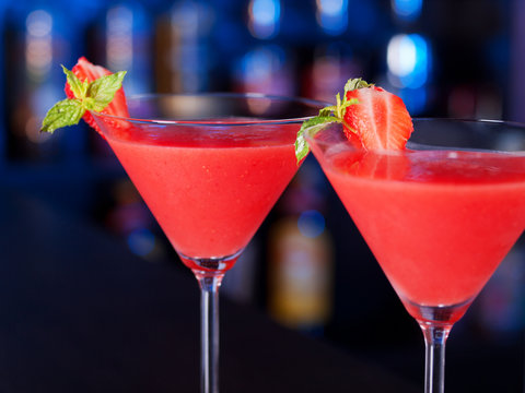 Cocktails Collection - Strawberry Daiquiri