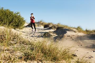 Running on the dunes