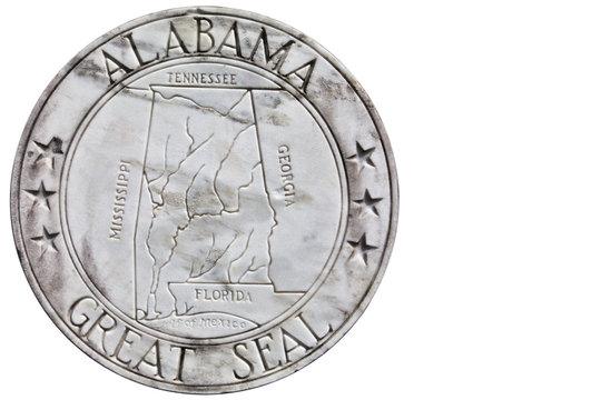 The Great Seal of Alabama.