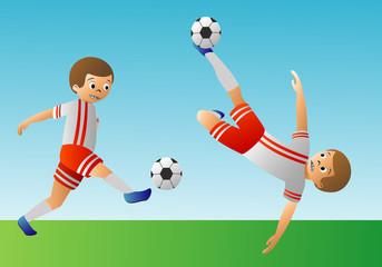 fottball player action