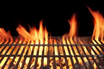 Aluminium Prints Grill / Barbecue Barbecue Fire Grill