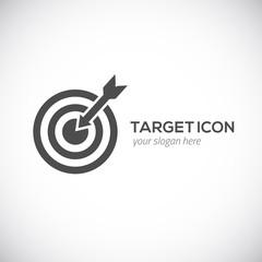Target icon. Logo concept.