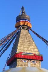 Les yeux de Bouddha à Katmandou