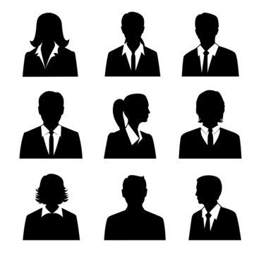 Business Avatars Set
