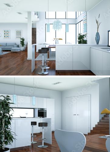 Modernes Loft Interieur – Modernise.info