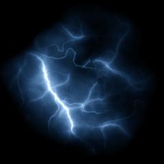 Lightning Bolts Background