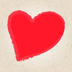 Valentine's day illustration hand drawing