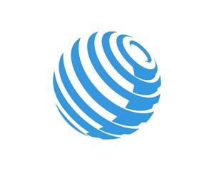 globe logo template v.2