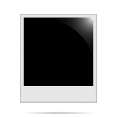 Photo frame with shadow under the frame