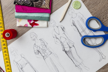 Fashion design table