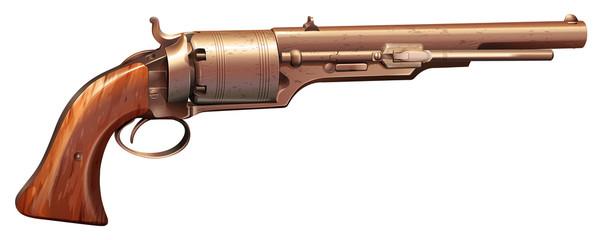 A vintage gun