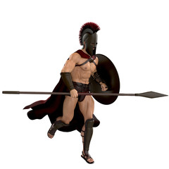 spartan running