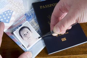 Forging Passport Picture