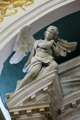 Angel, Church Saint Eustache in Dobrota, Montenegro
