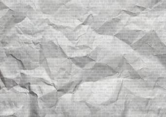 Hintergrund zerknittertes Papier