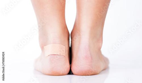дроч на ноге